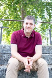 Portrait de Hugues photographe professionnel à Tours