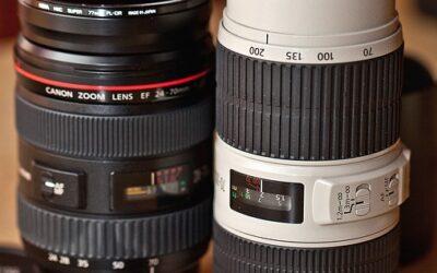Le matériel photo que j'utilise au quotidien